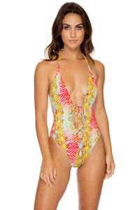 SMOKE SHOW - One Piece Bodysuit • Multicolor