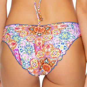 RAYANDO EL SOL - Seamless Full Ruched Back Bottom