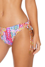 RAYANDO EL SOL - Triangle Halter Top & Drawstring Side Full Bottom • Multicolor