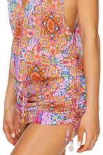 RAYANDO EL SOL - T Back Mini Dress • Multicolor
