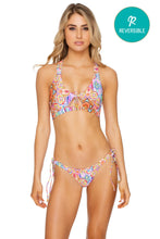 RAYANDO EL SOL - Bralette Top & Banded Moderate Bottom • Multicolor