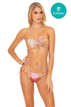 GYPSY DREAM - Bandeau Top & Drawstring Side Moderate Bottom • Buttercream