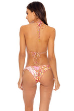 GYPSY DREAM - Triangle Top & Wavey Ruched Back Tie Side Bottom • Buttercream