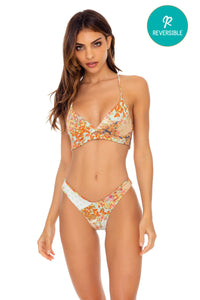 SALTY BUT SWEET - Underwire Top & Tab Side High Leg Bottom • Multicolor