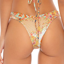 SALTY BUT SWEET - Tab Side High Leg Brazilian Bottom
