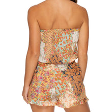 SALTY BUT SWEET - Strapless Ruffle Romper