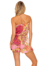 GYPSY DREAM - Strapless Ruffle Romper • Buttercream