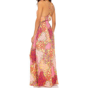 GYPSY DREAM - V Neck Long Dress