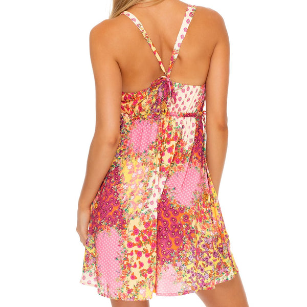 GYPSY DREAM - V Neck Short Dress