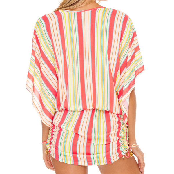 PLAY TIME - Cabana V Neck Dress