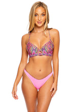 VAMOS A CABOS - Underwire Top & High Leg Bottom • Multicolor