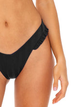 BACHELORETTE AND HER BABES - Bandeau Top & High Leg  Bottom • Bash Black