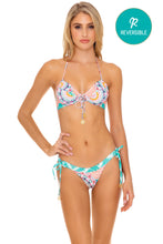 CARIBBEAN KISSES - Scrunch Cup Underwire Top & Banded Moderate Bottom • Multicolor