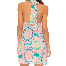 CARIBBEAN KISSES - Deep Plunge Mini Dress