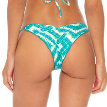MERMAID WISHES - Wavey Ruched Back Brazilian Tie Side Bottom