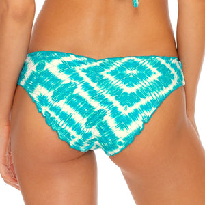 MERMAID WISHES - Seamless Full Ruched Back Bottom