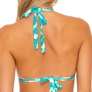 MERMAID WISHES - Triangle Halter Top