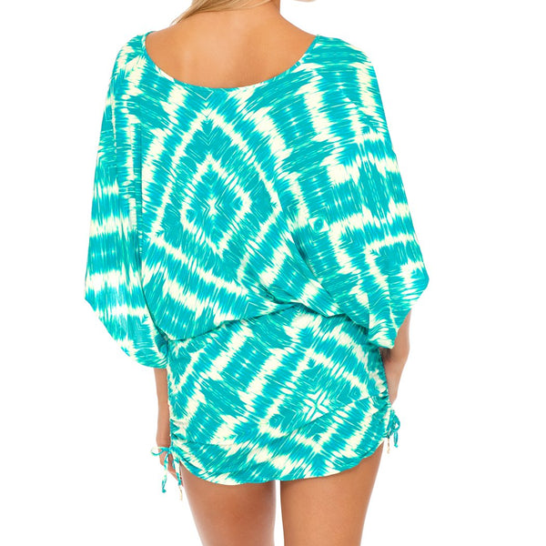 MERMAID WISHES - Cabana V Neck Dress