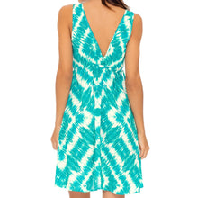 MERMAID WISHES - V Neck Short Dress