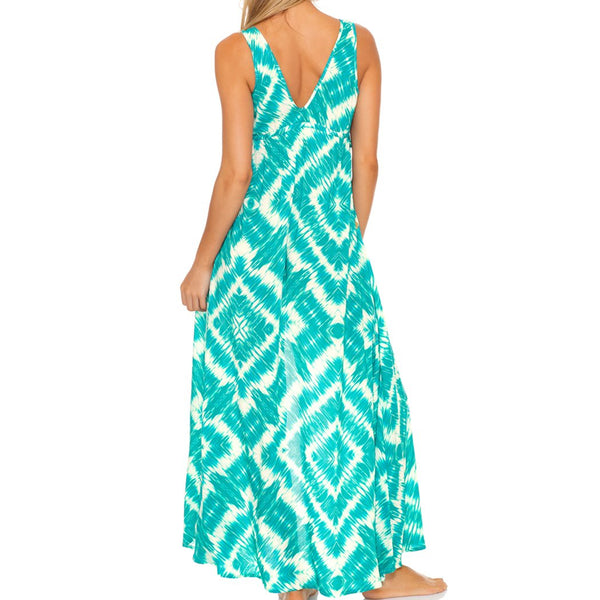 MERMAID WISHES - V Neck Long Dress