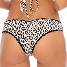 WILD SIDE - Wavey Ruched Back Brazilian Bottom
