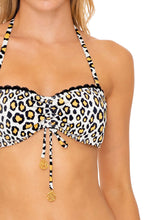 WILD SIDE - Bandeau Top & High Leg Bottom • Multicolor