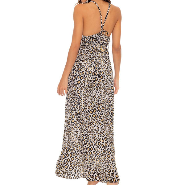 WILD SIDE - V Neck Long Dress