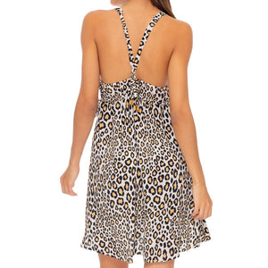 WILD SIDE - V Neck Short Dress