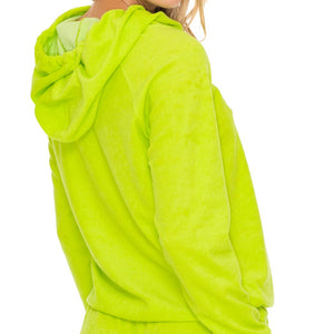 GLOW BABY GLOW - Hoodie Cut Out Jacket