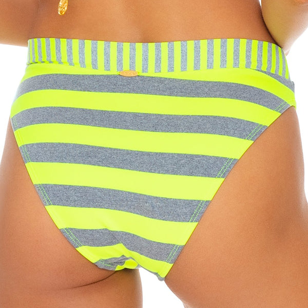 TIME TO FIESTA - High Leg Banded Waist Bottom