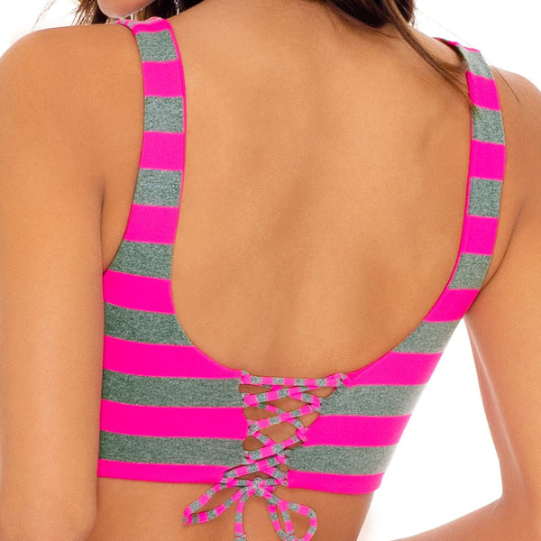TIME TO FIESTA - Tank Bralette