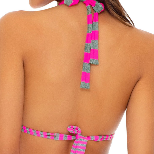 TIME TO FIESTA - Triangle Halter Top