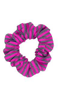 TIME TO FIESTA - Scrunchie • Neon Pink