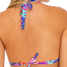 PINK LAGOON - Triangle Halter Top