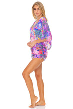 PINK LAGOON - Cabana V Neck Dress • Multicolor