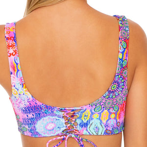 PINK LAGOON - Open Front Bralette