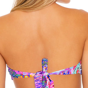 PINK LAGOON - Free Form Bandeau