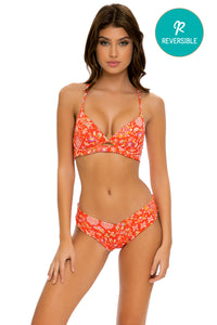 CALYPSO - Underwire Top & Moderate Bottom • Rojo