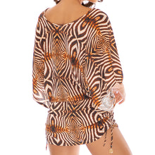 SAFARI DREAMS - Cabana V Neck Dress