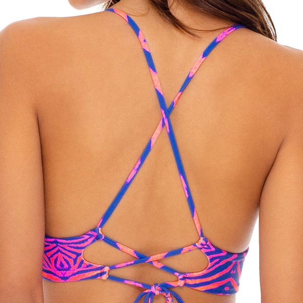 PUERTO AVENTURA - Cross Back Bustier Top