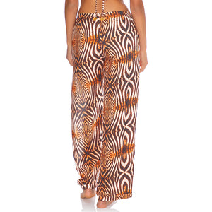 SAFARI DREAMS - Split Side Wide Leg Pant