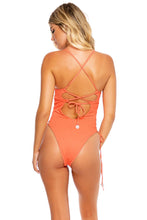 RIVER DANCE - Peek a boo Underwire One Piece Bodysuit • Coastal Coral
