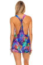 ISLA HOLBOX - T Back Mini Dress • Multicolor