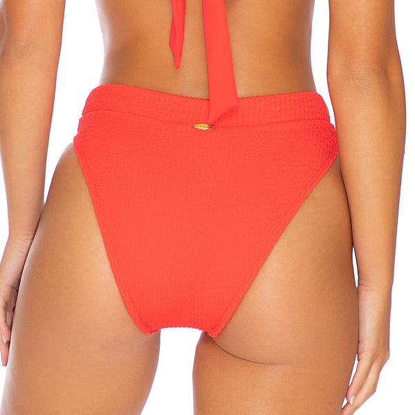 PURA CURIOSIDAD - High Leg Banded Waist Bottom (3929487114342)