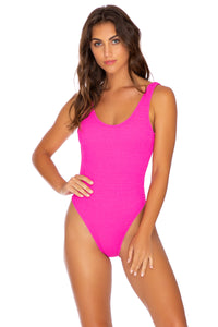 PURA CURIOSIDAD - Tank One Piece • Pretty Pink