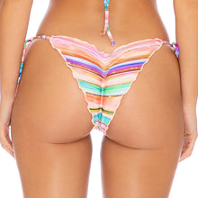 HEAT WAVES - Wavey Ruched Back Tie Side Bottom
