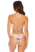 HEAT WAVES - Underwire Top & Seamless Wavey Ruched Back Bottom • Multicolor