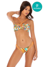 JUST WING IT - Bandeau Top & Brazilian Bottom • Multicolor