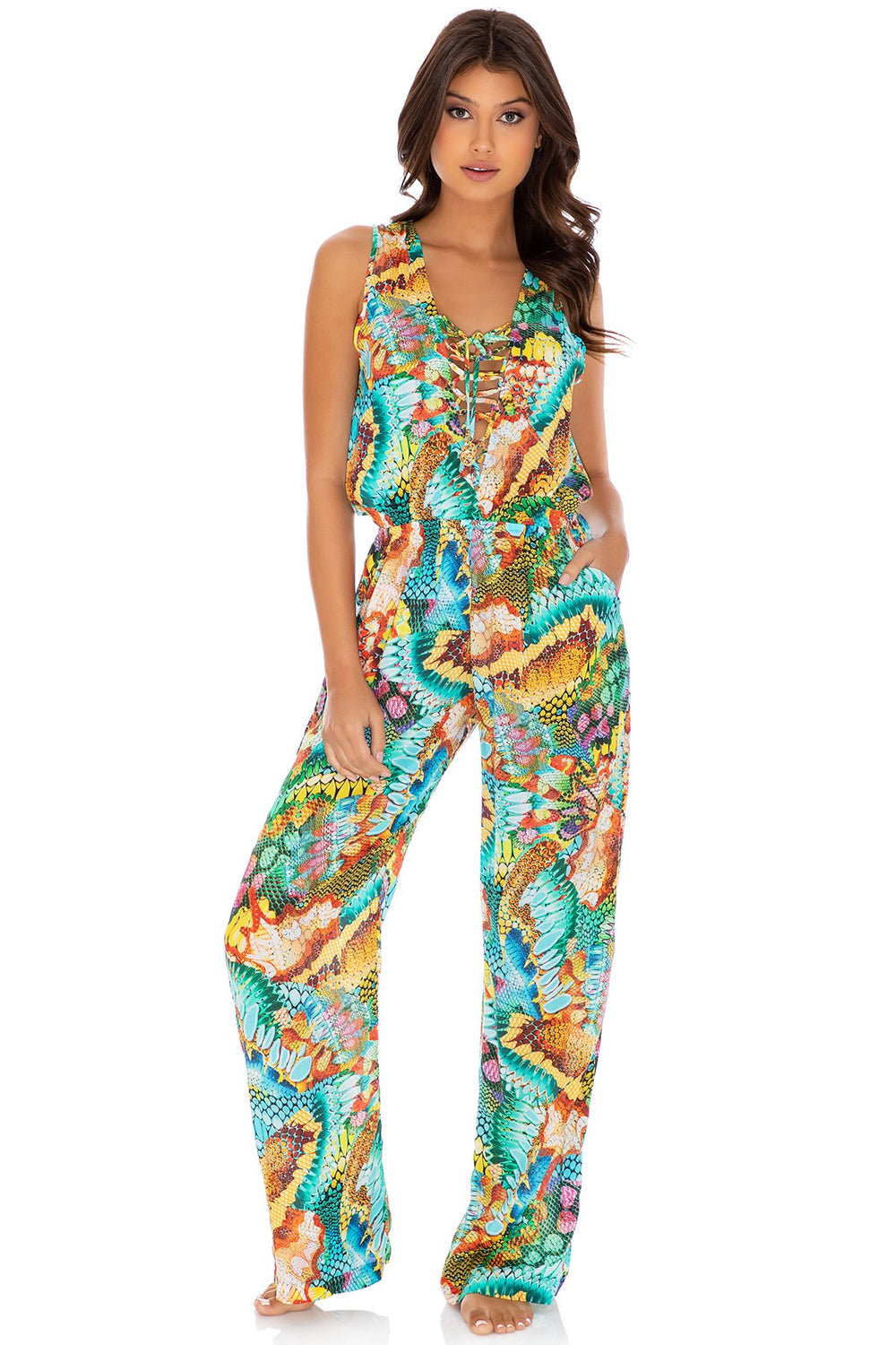 JUST WING IT - Jumpsuit • Multicolor