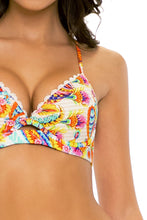 SUMMER LOVE - Underwire Top & Drawstring Side  Bottom • White